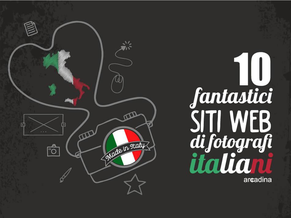 Il migliore siti web di fotografi italiani