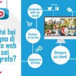 Perché hai bisogno di un sito web se sei fotografo?