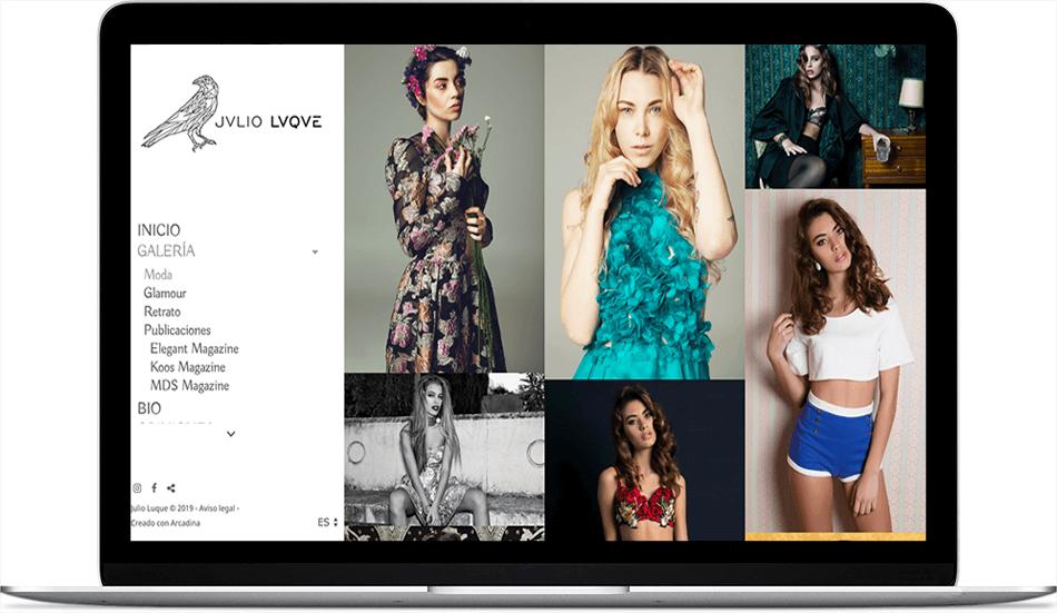 Julio Luque. Fotografía de moda y glamour a nivel internacional