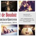 Arcadina colabora en el taller Boudoir organizado por SocialClick Fotógrafos - 24.11.16 Valladolid