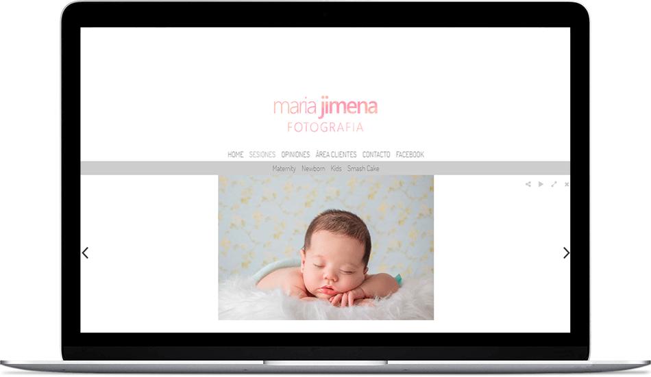 María Jimena - Fotografía de recién nacidos