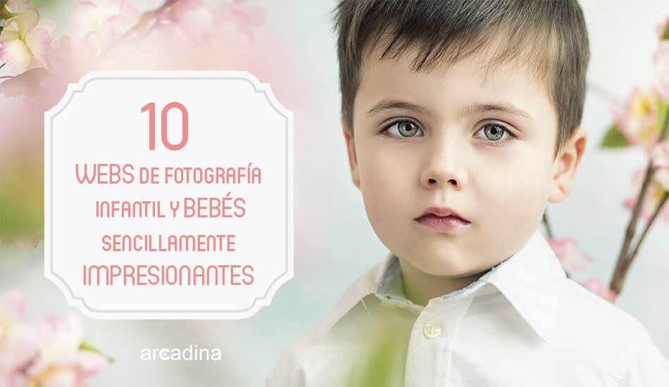 webs de fotografía infantil y bebés