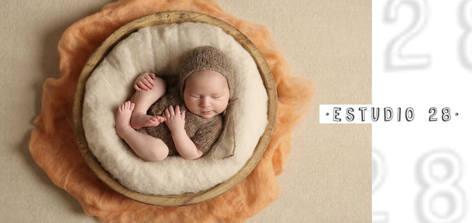 Web de fotografía infantil y bebés de Estudio 28