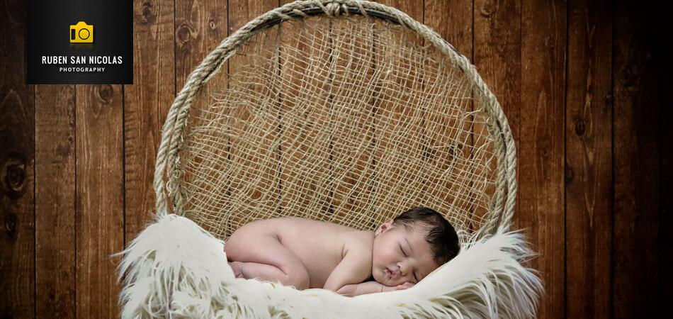 Web de fotografía de recién nacidos de Rubén San Nicolás