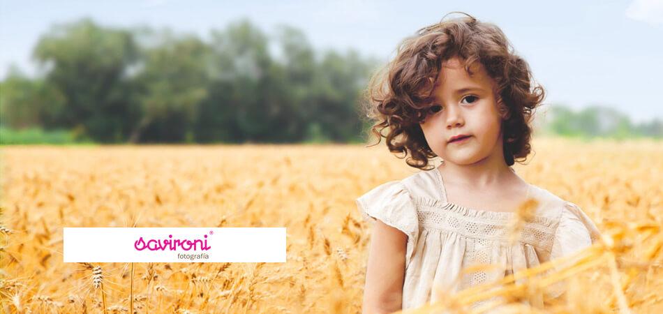 Web de fotografía de niños de Savironi Fotografía