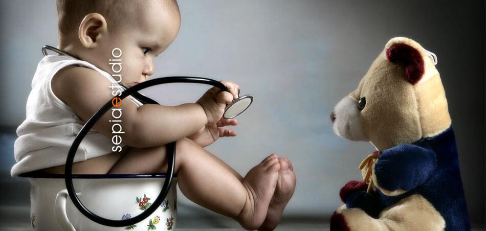 Web de fotografía infantil y de bebés de Sepia Estudio