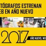 Fotógrafos que estrenan web en año nuevo