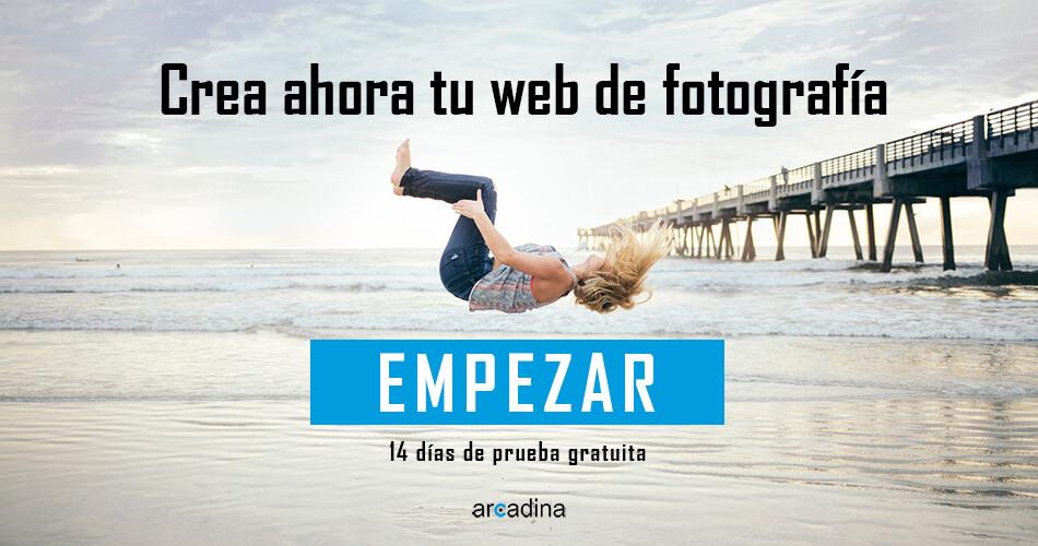Crea una web de fotografía o creativa