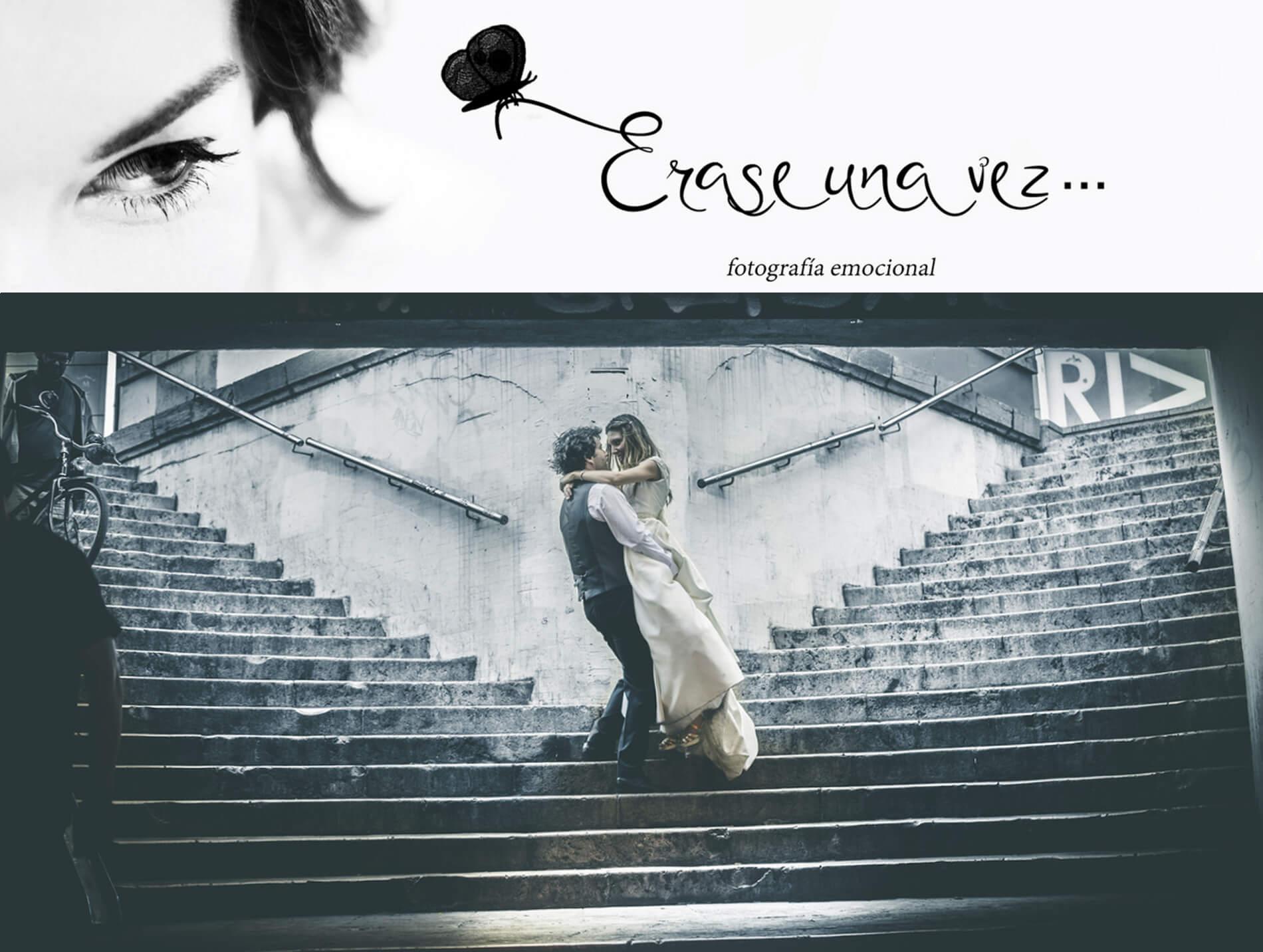 Web de Érase una vez. Fotógrafo de bodas en Valencia