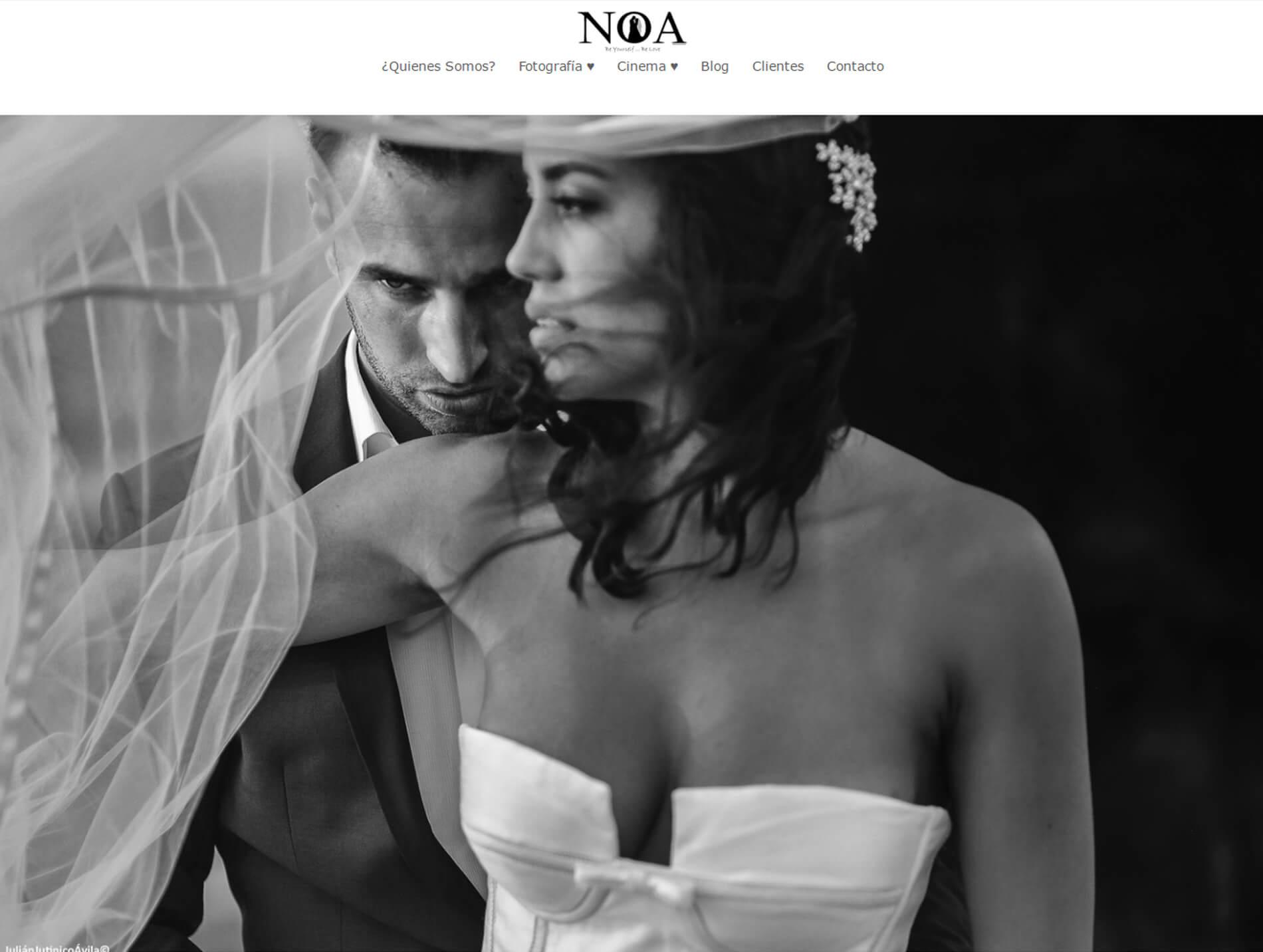 Julián Vitinico - Siti web di fotografi matrimonialisti