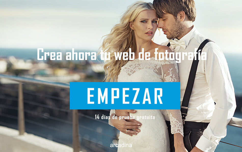 Crear una web de fotografía de boda