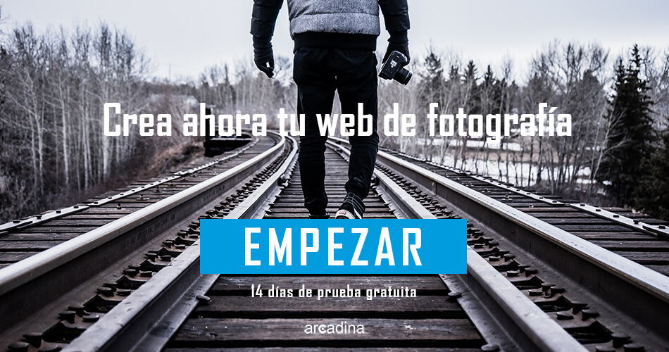 Crea una web de fotografía ahora