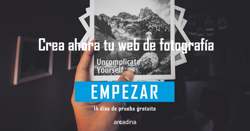 Crear una web de fotografía en blanco y negro