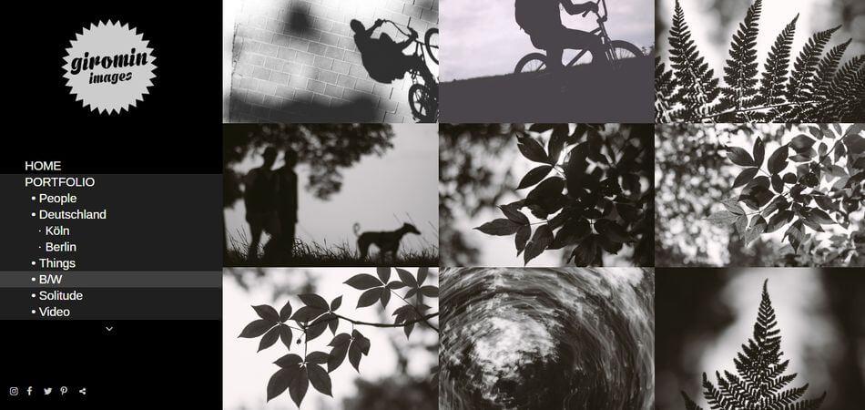 GINES ROMIN - Black & White stock images