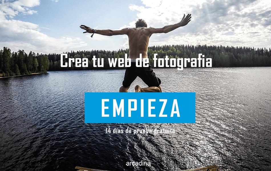 Crea tu mejor web de fotografía