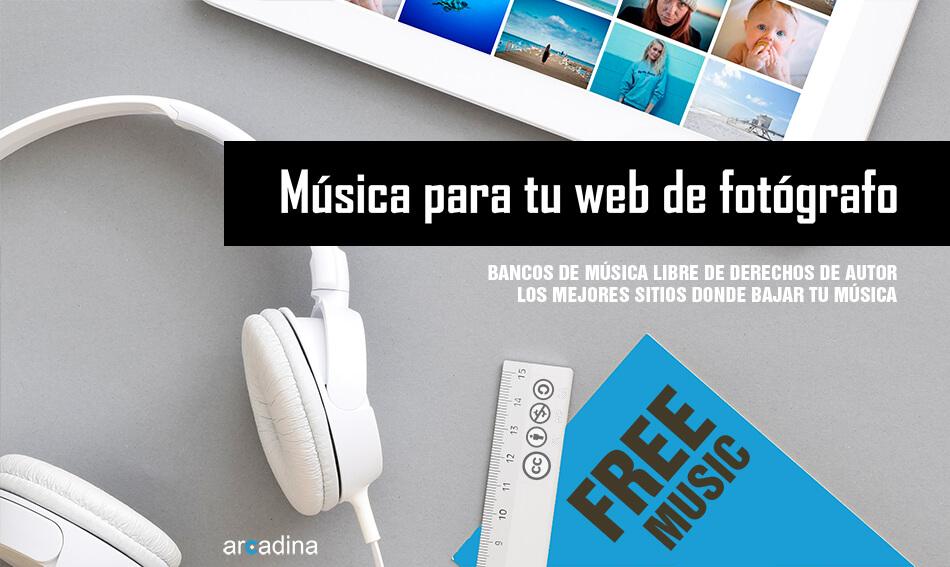 Bancos de música libre de derechos