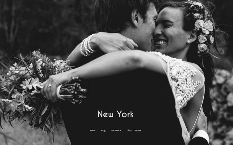 Página web de fotografía y vídeo NewYork