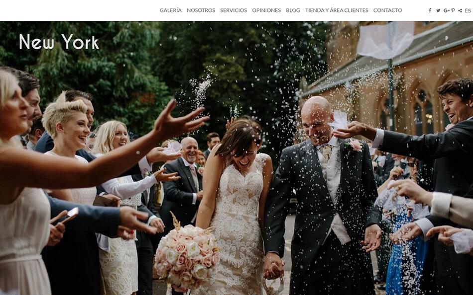 Nuevo diseño web para fotógrafos NewYork