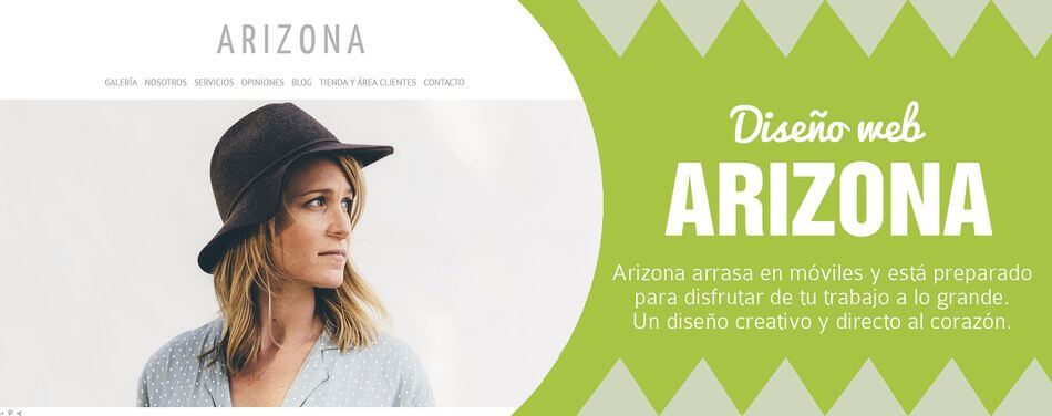 Diseño web para fotógrafos Arizona