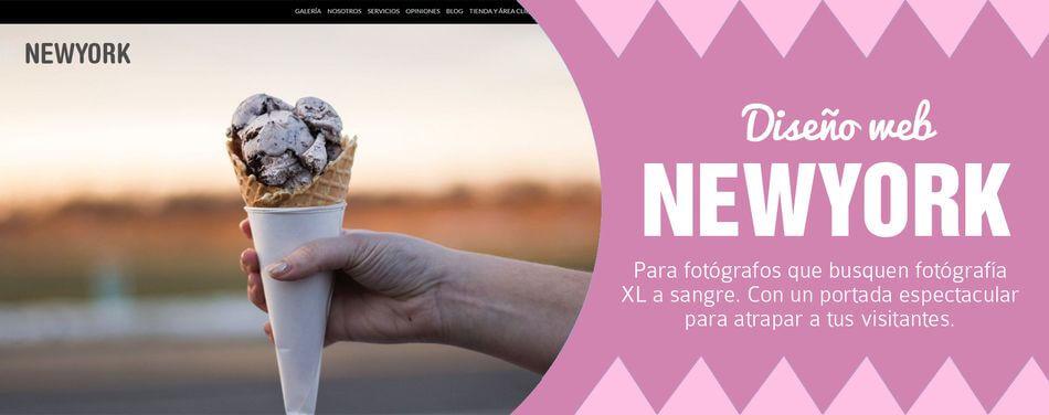 Diseño web para fotógrafos NewYork