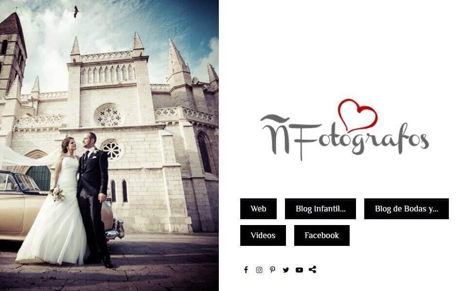 Web para fotógrafos de boda