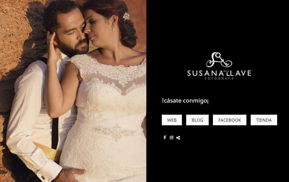 Webs de fotografos de bodas