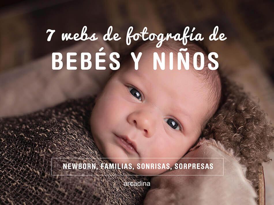 7 webs de fotografía de bebés y niños