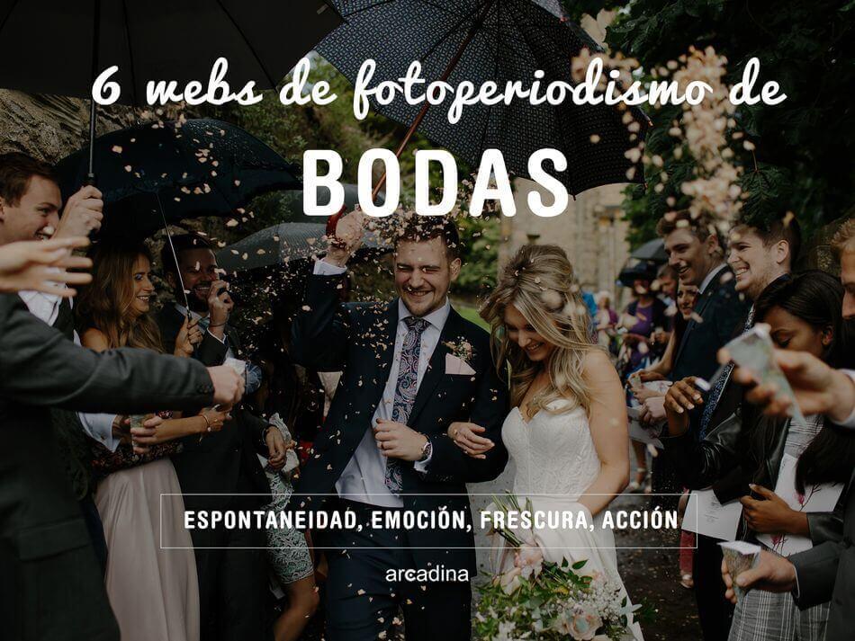 6 webs de fotoperiodismo de boda que te van a fascinar