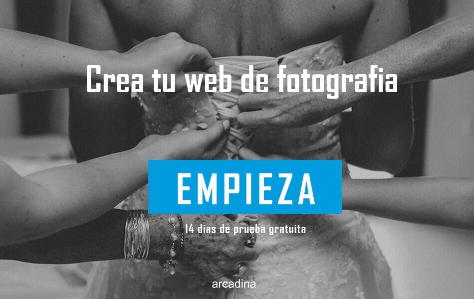 Crea tu web de fotografía