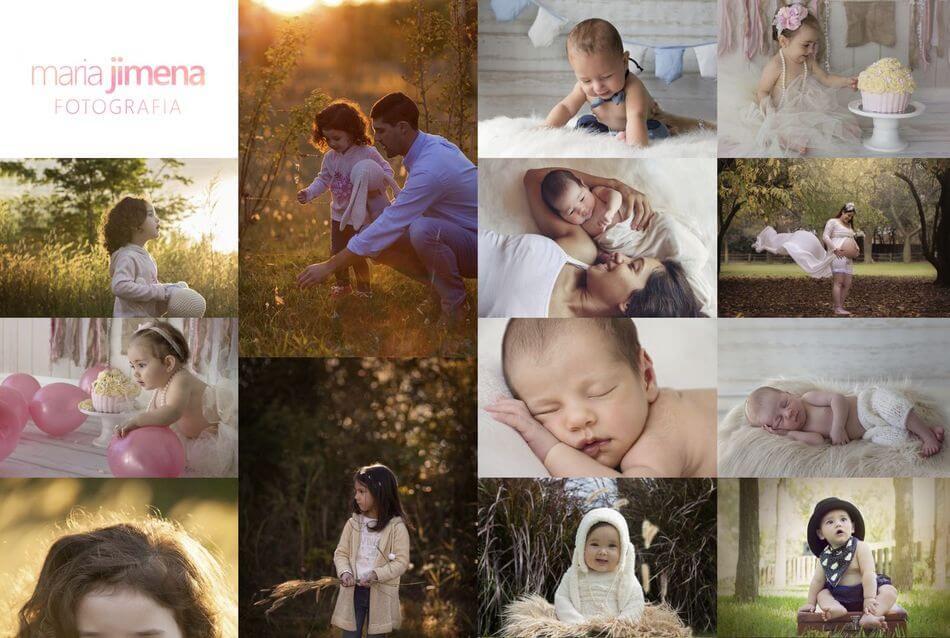 fotógrafo de bebés y recién nacido