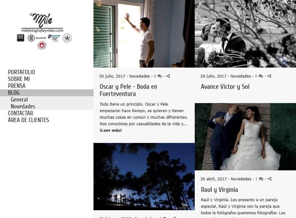 Blog de fotoperiodismo de boda