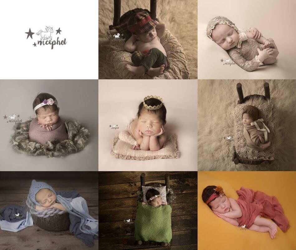 Fotógrafos de recién nacidos y maternidad