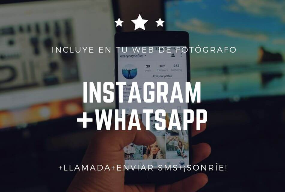 incluir instagram en tu web