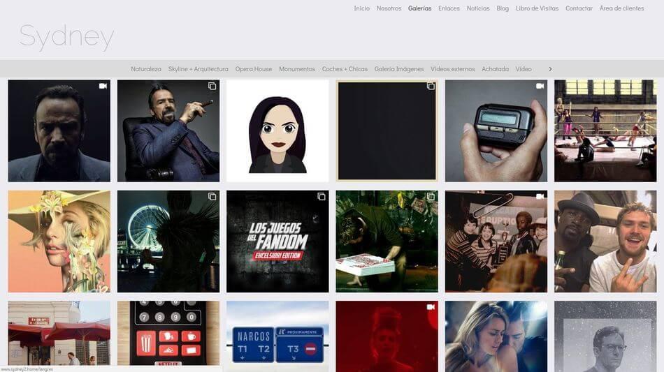 Añade tu cuenta de Instagram como una galería web