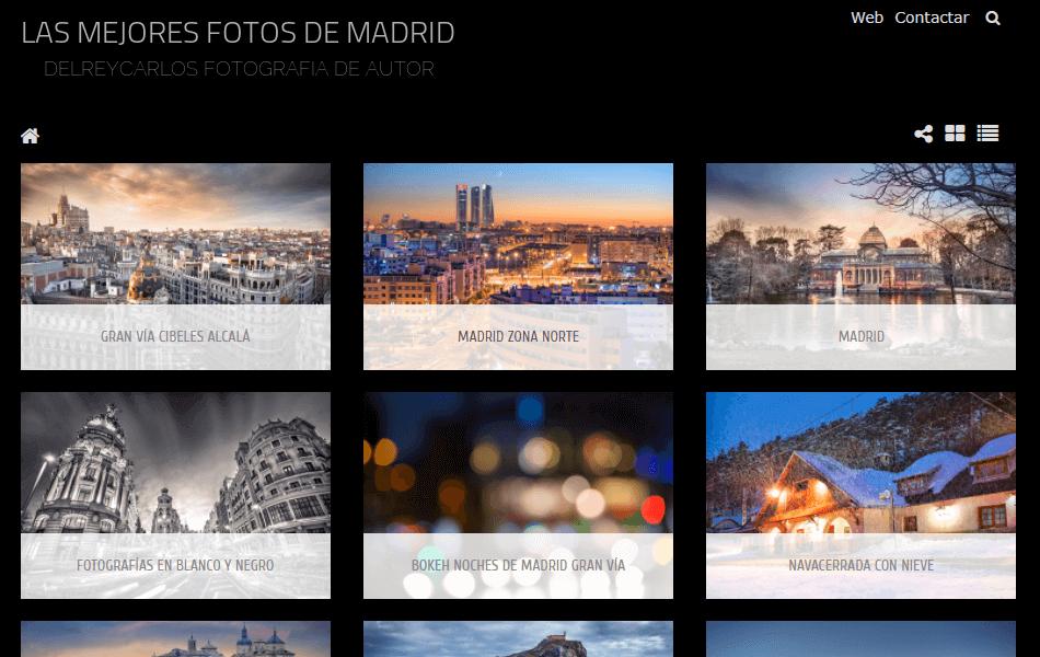 Venta de fotografías de Madrid