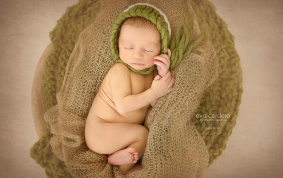 Ejemplo de diseño web para recién nacidos