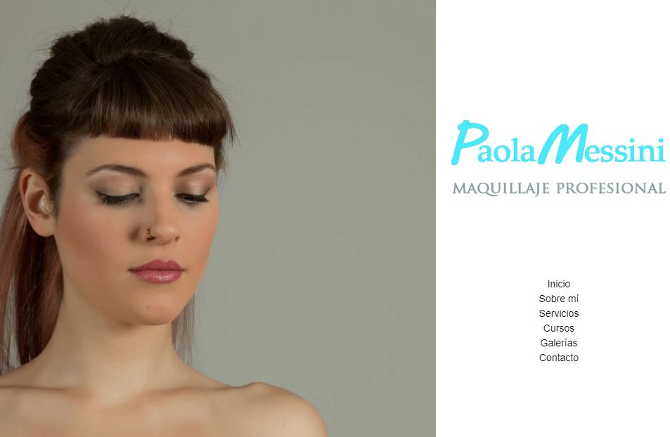 Paola Messini maquilladora profesional Montevideo