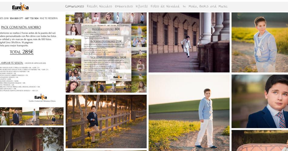 Web de fotografo en Sevilla