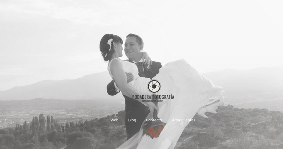 Web de fotógrafo de bodas en Madrid