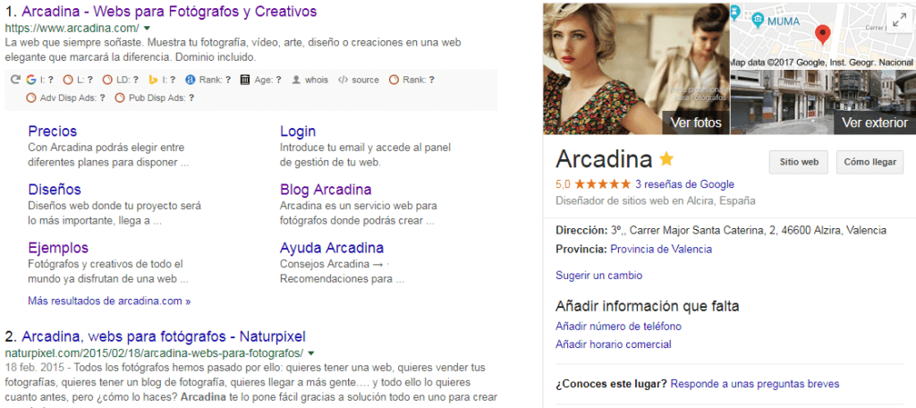 Arcadina Seo Local