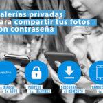 Galerías privadas para compartir tus fotos con contraseña