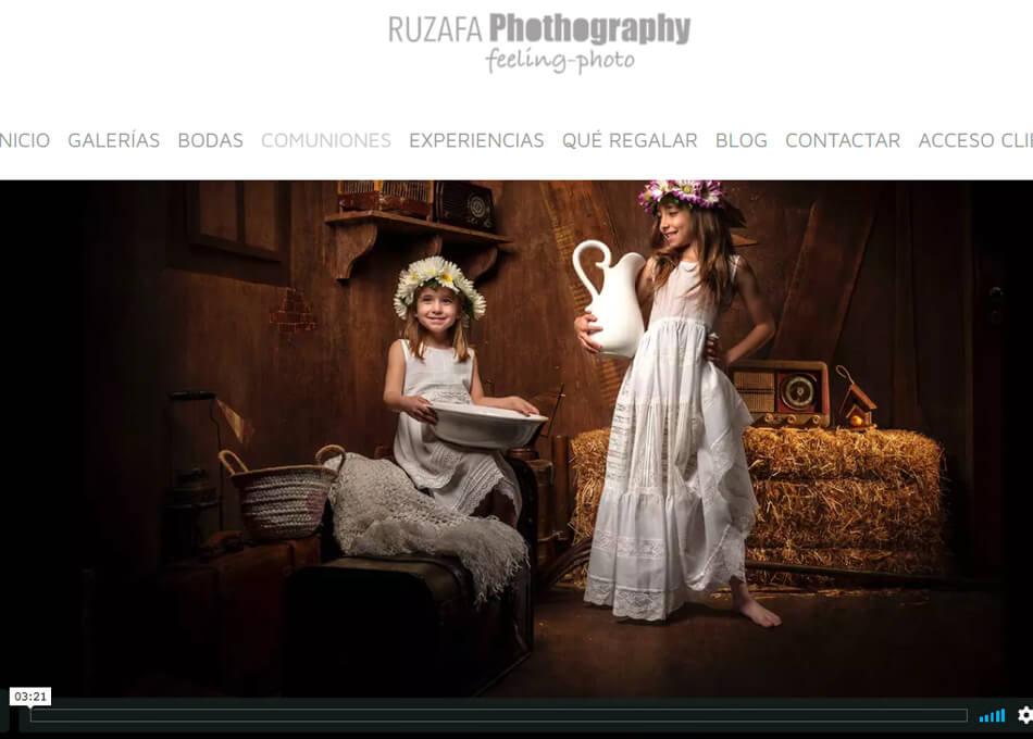 Webs de fotógrafos en comuniones
