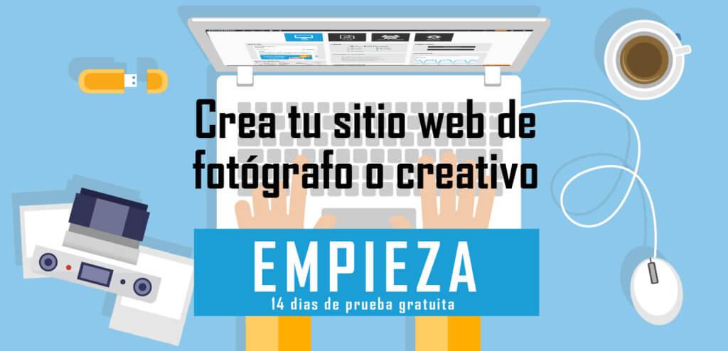 Crea ahora tu web de fotografía y vídeo