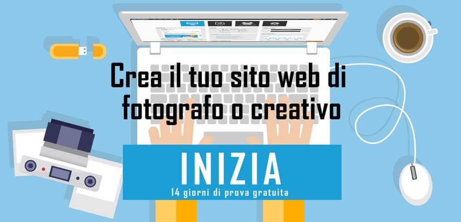 Crea il tuo sito web di fotografia