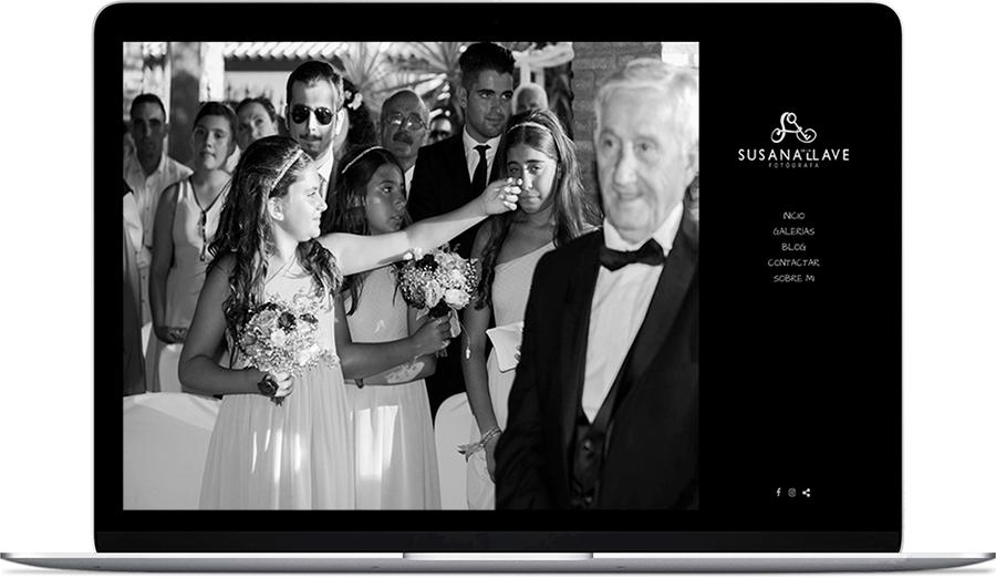 Web de fotografía de Susana de la Llave fotógrafa