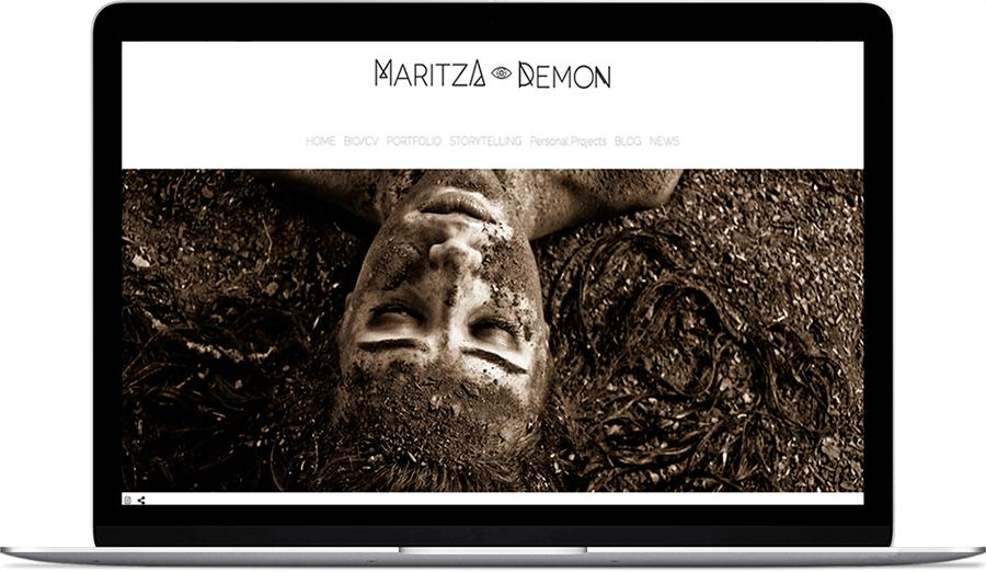 Web de fotografía de Maritza Demon fotógrafa