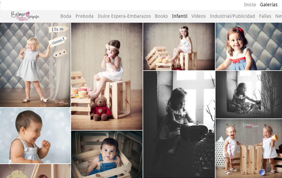 Nueva galería de fotos y vídeo 'Infinite'