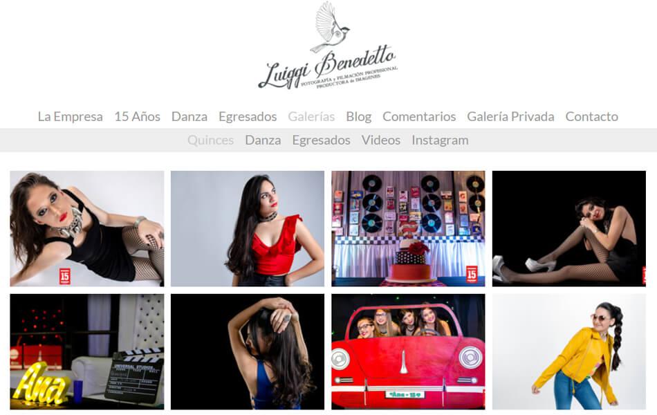 galeria de fotografías 'Pages'