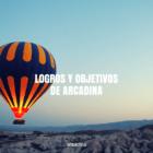 Logros y objetivos de Arcadina