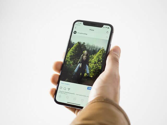 Publicidad Instagram móvil